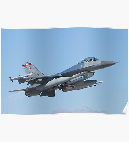 #HL AF 89 0149 F-16C Fighting Falcon Poster