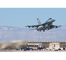 #HL AF 89 0149 F-16C Fighting Falcon Taking Off Photographic Print