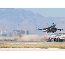 #HL AF 89 149 F-16C Fighting Falcon Wheels Up Photographic Print