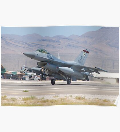 #LF AF 97 0113 F-16C Fighting Falcon Poster