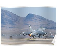 #OT AF 88 0420 F-16C Fighting Falcon Poster