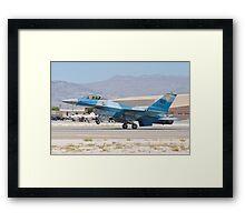 #WA AF 86 0251 F-16C Fighting Falcon Framed Print