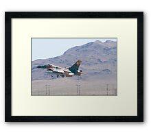 #WA AF 86 0272 F-16C Fighting Falcon Framed Print