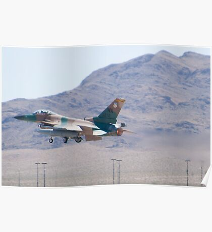#WA AF 86 0272 F-16C Fighting Falcon Poster