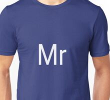 Mr & Mrs Adobe Themed Unisex T-Shirt