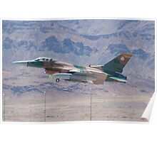 #WA AF 87 0321 F-16C Fighting Falcon Poster