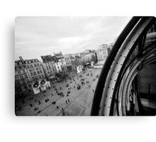 Paris du Centre de Pompidou Canvas Print