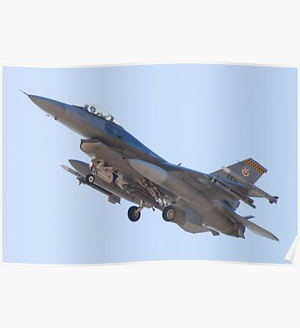 #WA AF 90 0747, F-16C Fighting Falcon Poster