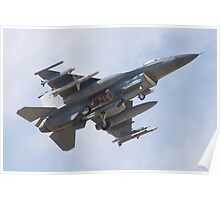 OT AF 97-0107 F-16C Fighting Falcon Poster