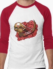 Chestburster  Men's Baseball ¾ T-Shirt