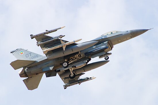 OT AF 98-0005 F-16C Fighting Falcon by Henry Plumley