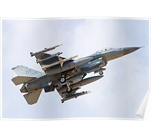 OT AF 98-0005 F-16C Fighting Falcon Poster