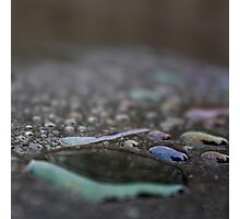 Coloured Waterdrops II Photographic Print