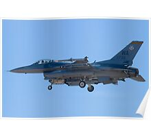 WA AF 90-0739 F-16C Fighting Falcon Poster