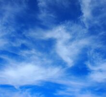 Clouds and sky are taking a picture by vladromensky
