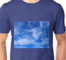 Clouds and sky are taking a picture Unisex T-Shirt