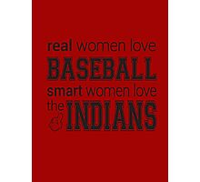 Women's Indians Tshirt Photographic Print