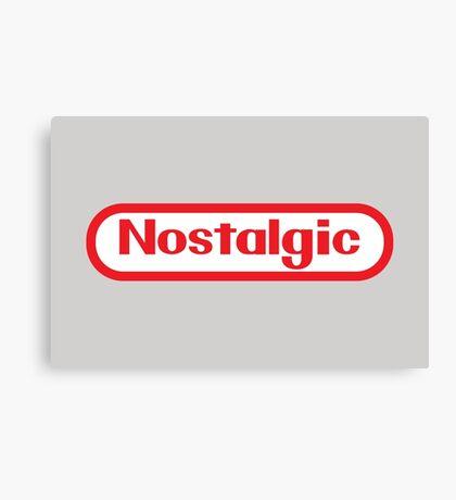 NES Collection : Nostalgic Logo Canvas Print