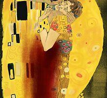 Pop goes Klimt 1 - Hannigram by lisandrascafe