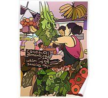 fruit n veg market  Poster
