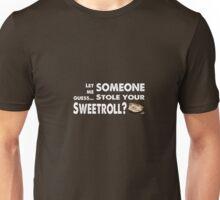 Sweetroll thief Unisex T-Shirt