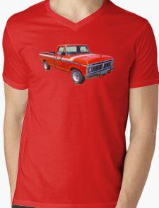 1975 Ford F100 Explorer Pickup Truck Mens V-Neck T-Shirt