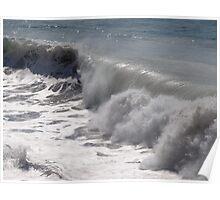 Waves - Olas altas Poster