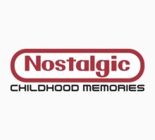 NES Collection : Nostalgic Childhood Memories Kids Tee
