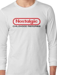 NES Collection : Nostalgic Childhood Memories Long Sleeve T-Shirt