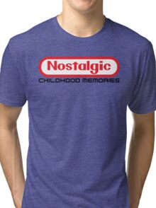 NES Collection : Nostalgic Childhood Memories Tri-blend T-Shirt