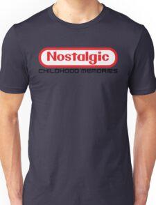 NES Collection : Nostalgic Childhood Memories Unisex T-Shirt