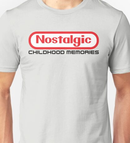 NES Collection : Nostalgic Childhood Memories Unisex T-Shirt