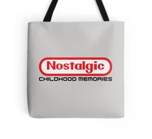 NES Collection : Nostalgic Childhood Memories Tote Bag