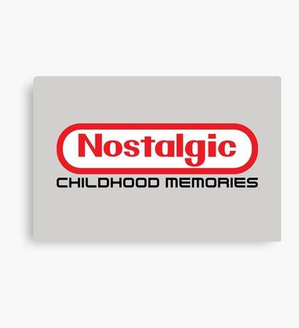 NES Collection : Nostalgic Childhood Memories Canvas Print