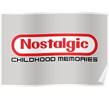 NES Collection : Nostalgic Childhood Memories Poster