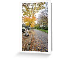 Automne au cimitiere du pere lachaise Greeting Card