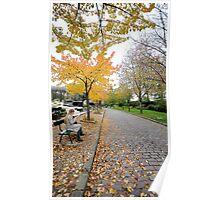 Automne au cimitiere du pere lachaise Poster