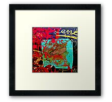 Graffiti #20a Framed Print