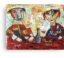 """""""French party""""  Canvas Print"""