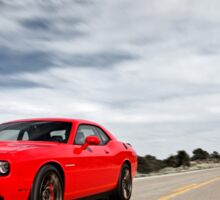 Dodge Challenger SRT Hellcat Sticker