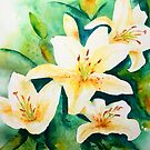 Golden Lily's by Kay Clark