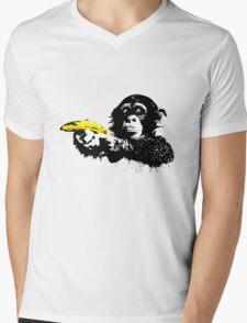 Bad Monkey Mens V-Neck T-Shirt