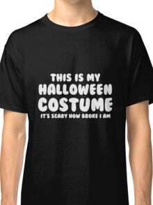 Halloween Costume Classic T-Shirt