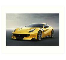 Ferrari F12 TDF Art Print
