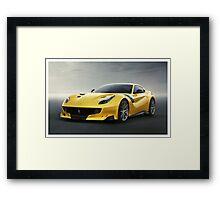 Ferrari F12 TDF Framed Print