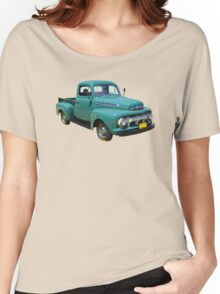 1951 ford F-1 Antique Pickup Truck Women's Relaxed Fit T-Shirt