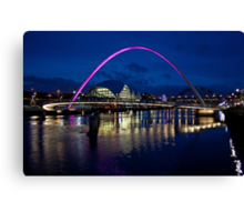 Gateshead Millennium Bridge, Newcastle Canvas Print