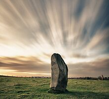 Sunset At The Stones by Pete Latham