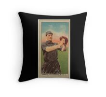 Benjamin K Edwards Collection Danzig Sacramento Team baseball card portrait Throw Pillow