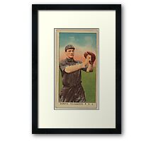 Benjamin K Edwards Collection Danzig Sacramento Team baseball card portrait Framed Print